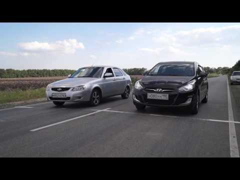Hyundai Solaris МТ vs Лада Приора