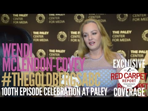 Wendi McLendonCovey ed at PaleyLive LA Event Celebrating The Goldbergs 100th Episode
