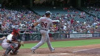 DET@HOU: Miggy drills his fifth home run of season