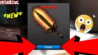 CRAFTING THE BRAND NEW HEARTH MYTHIC *NEW CHRISTMAS KNIFE* (ROBLOX ASSASSIN NEW MYTHIC UNBOXING)
