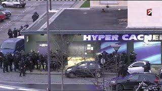 قوات الشرطة الفرنسية تقتحم المتجر اليهودي شرق باريس و تقتل محتجز الرهائن