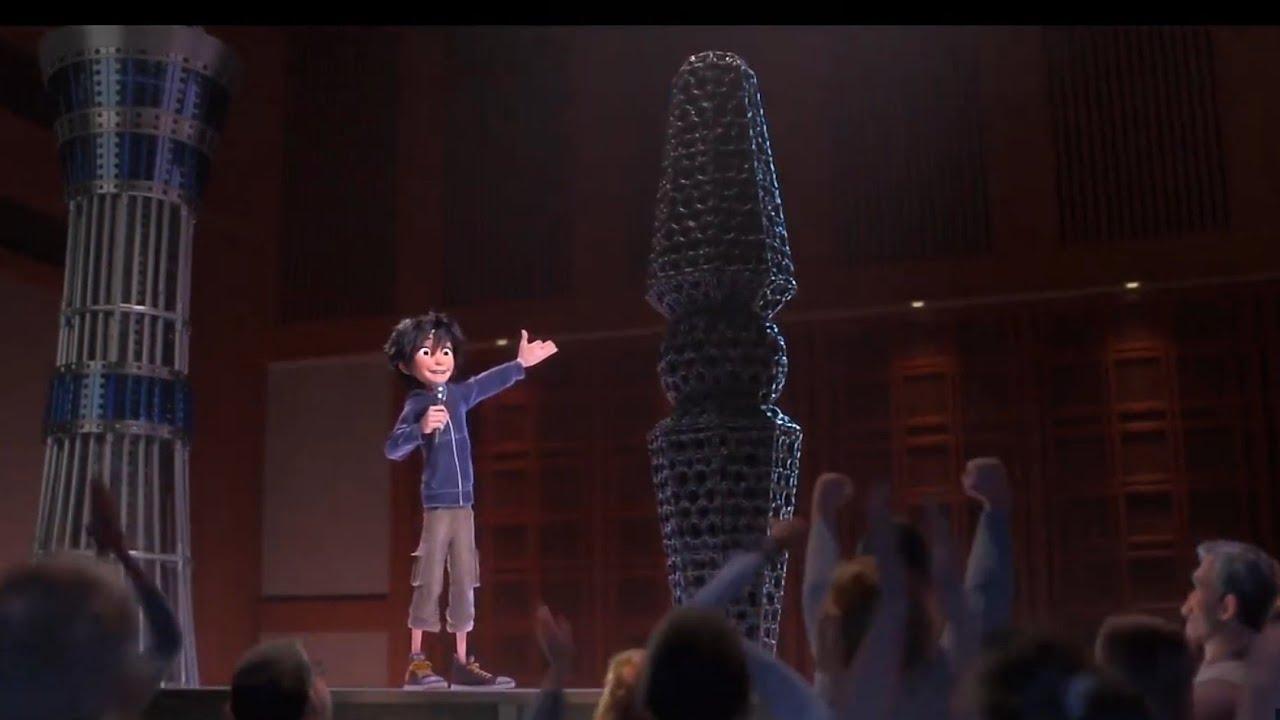 Download Hiro Hamada microbots presentation Big hero 6 1080p