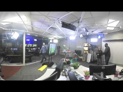LIVE 360° view of our #AfterCast Q&A behind-the-scenes from our studio!