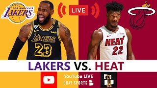 Lakers vs Heat NBA Finals Game 5 Live Streaming Scoreboard, Play-By-Play, Stats, Highlights, Updates