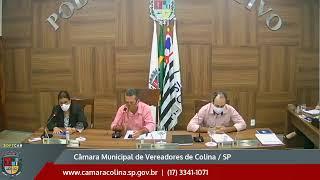 Câmara Municipal de Colina - 8ª Sessão Ordinária 18/05/2020