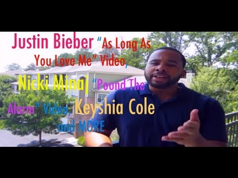 "Justin Bieber ""As Long As You Love Me"" Video, Nicki Minaj ""Pound The Alarm"" and More"