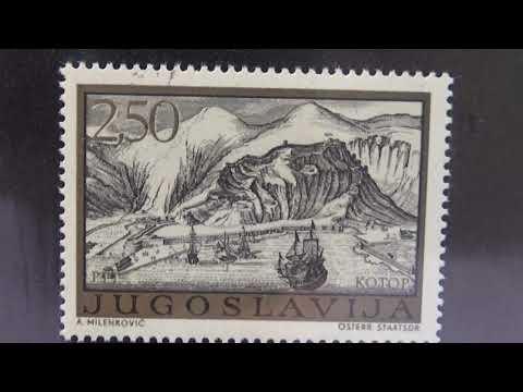 Sealed Old Jugoslavija Stamps