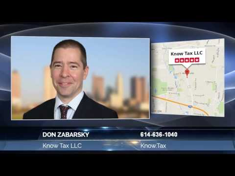 Don Zabarsky Of Know Tax LLC  Incredible Information On How To Obtain A Tax Accounting Service