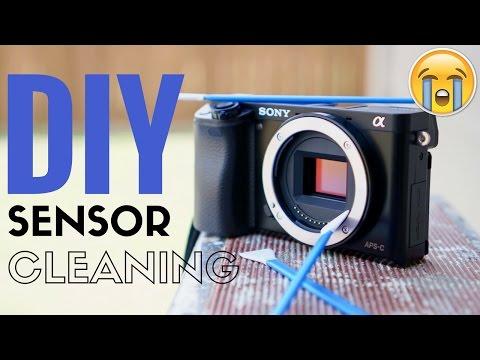 Sony A6000 Sensor Cleaning DIY
