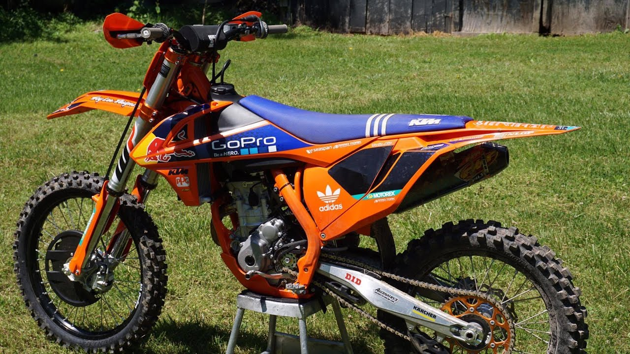 2016 ktm 250sx-f factory edition | first ride - youtube