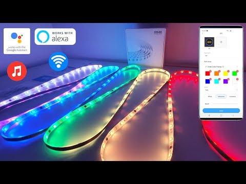 GOVEE Dream Colour LED Strip Light With Music Sync - BEST SMART LED STRIP LIGHT