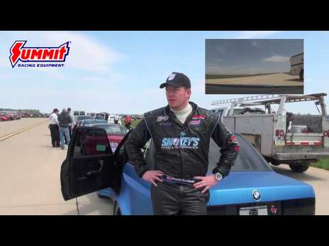 Land Speed Racing at the Ohio Mile with a LS Powered BMW E30