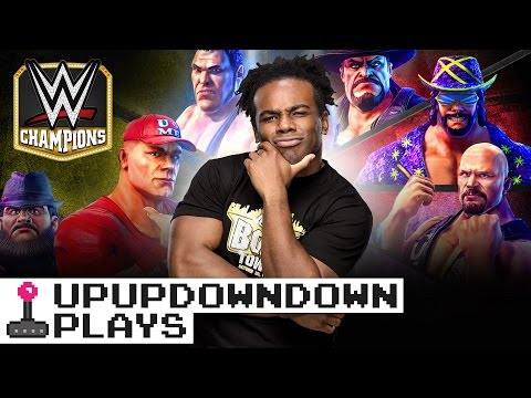 WWE CHAMPIONS crashes on to the mat!!! — UpUpDownDown Plays