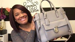 b91f5861d30d Michael Kors Emma Saffiano Handbag Review