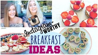 Back to School ✧ Instagram-worthy Breakfast Ideas