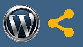 Социальные кнопки для WordPress