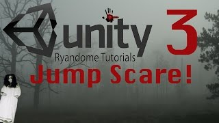Jump Scare. How to make a Horror Game 3 Unity 3D.