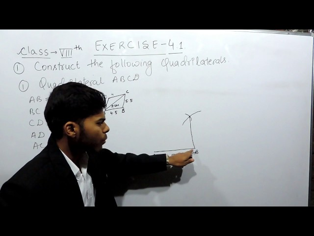 Practical Geometry - Chapter 4 exercise 4.1 Q 1 - Introduction - NCERT Class 8th Maths