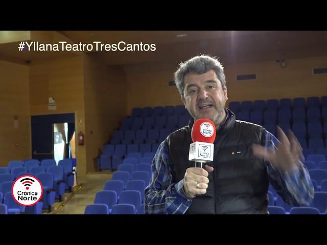 Yllana gestiona y dará relevancia a la nueva Escuela Municipal de Teatro de Tres Cantos