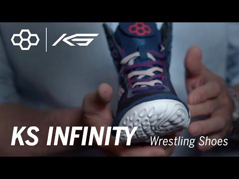 KS INFINITY Wrestling Shoes