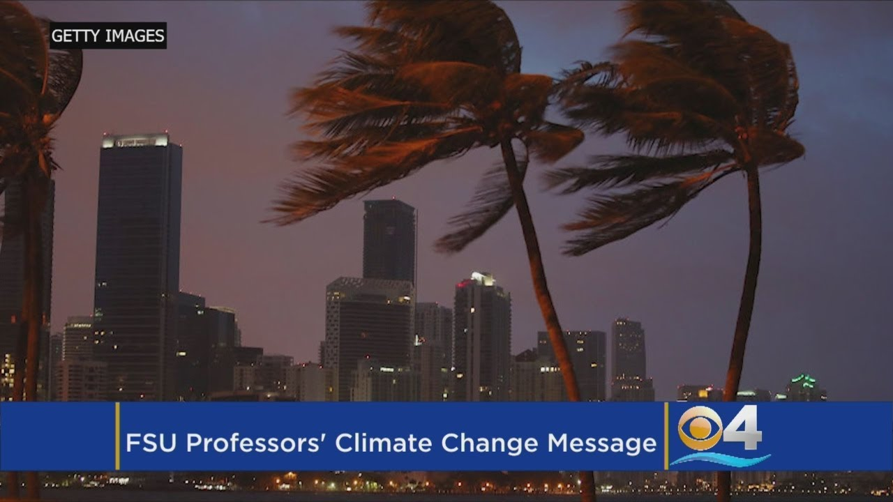 For Florida Professors, Climate Change Could Be Opportunity Or Bust