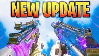 BEST WEAPONS VMP + XMC NERFED! WORST GUNS NOW!? (Call Of Duty Black Ops 3 New Update 1.26)