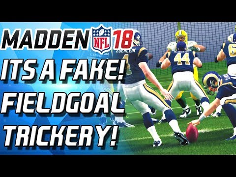 FAKE FIELDGOAL FOR THE WIN! WEEKEND LEAGUE TRICKERY! - Madden 18 Ultimate Team