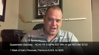 FREE NCAA College Football Sports Picks Saturday 10/19/19