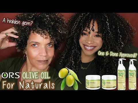 ORS Olive Oil For Naturals | Review + Wash n' Go | Hidden Gem?