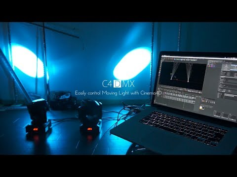 Repeat C4DMX: LED design and control with Cinema4D in 3D space by