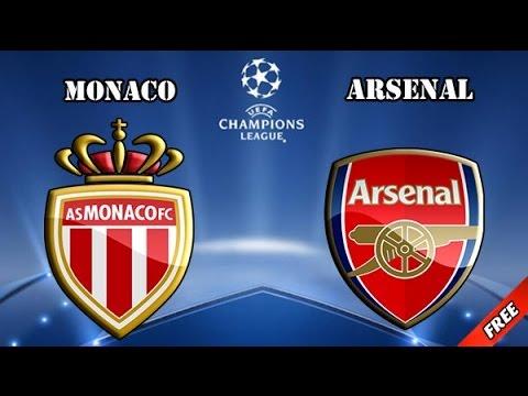 Monaco 0-2 Arsenal Full Highlight 17/03/2015