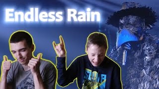 Endless Rain - หน้ากากอีกาดำ || THE MASK SINGER || Reaction Of Russian People