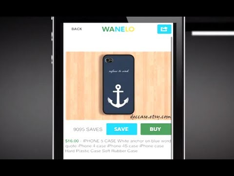 Wanelo Makes Shopping Social - YouTube bafd5db725