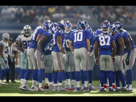 New York Giants Mid Season Highlights 2016 Weeks 1-9