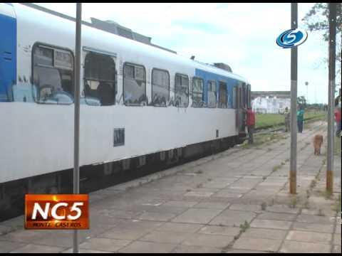 Tren que une Argentina con Paraguay