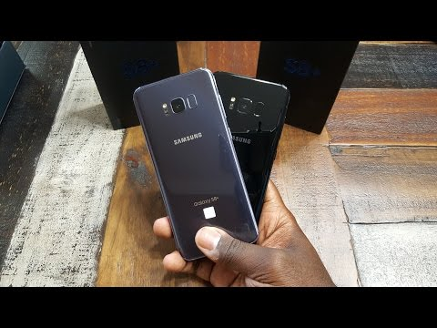Galaxy S8+: Unboxing and First Impressions