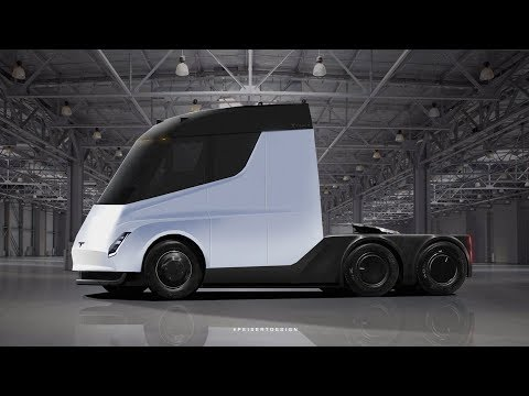 How will Tesla semi truck be?