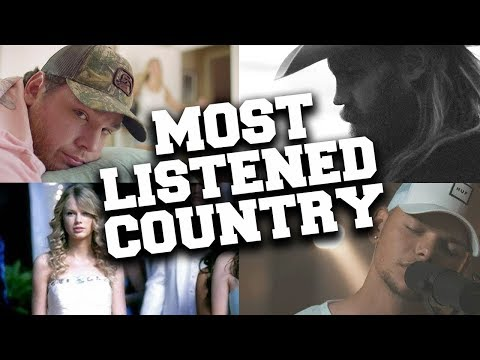 Top 100 Most Listened Country Songs in October 2019