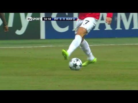 Cristiano ronaldo stepover vs Inter milan