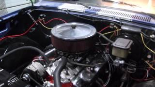 327 Chevy w/ Vortech Heads in 1981 Chevy Stepside: First Run