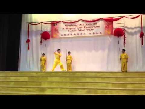 Pei Chun Wushu CNY Performance #1