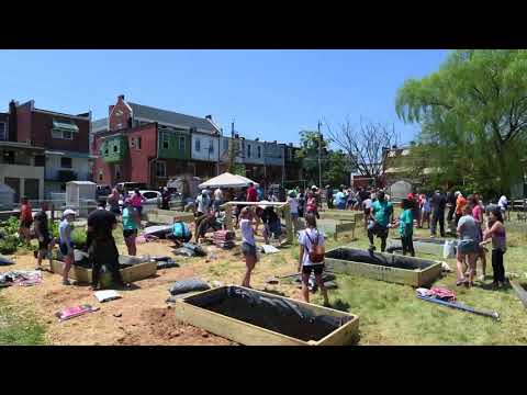 Volunteering Untapped Time Lapse: Community Garden with Fort Worthington Elementary School