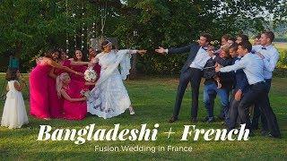 Bangladeshi + French Fusion Wedding in France