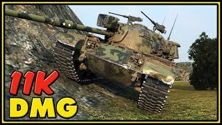 M48A1 Patton - 10 Kills - 11K Dmg - World of Tanks Gameplay