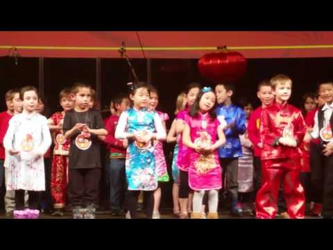 Hope Chinese Charter School first grade CYN