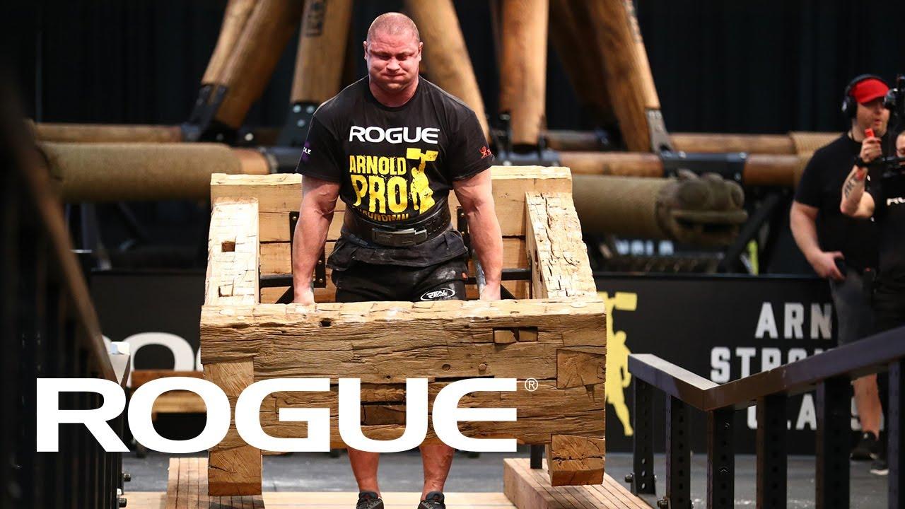 2020 Arnold Strongman Classic - Timber Carry | Recap