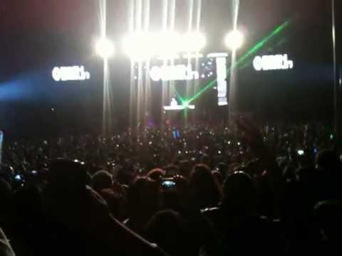 Dash Berlin en SixFlags Mexico 5/mayo/2012