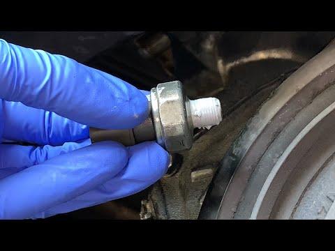 Honda Oil Pressure Switch Replacement DIY