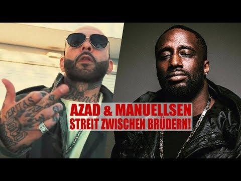 BEEF: MANUELLSEN & AZAD HABEN STREIT! STATEMENT von Manuellsen!