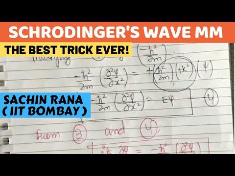 Schrodinger's Equation